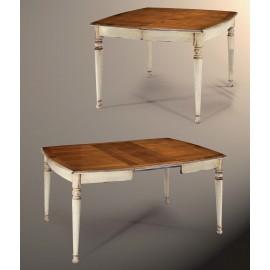 Table faux carré LAURA