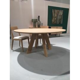 Table en chêne ronde