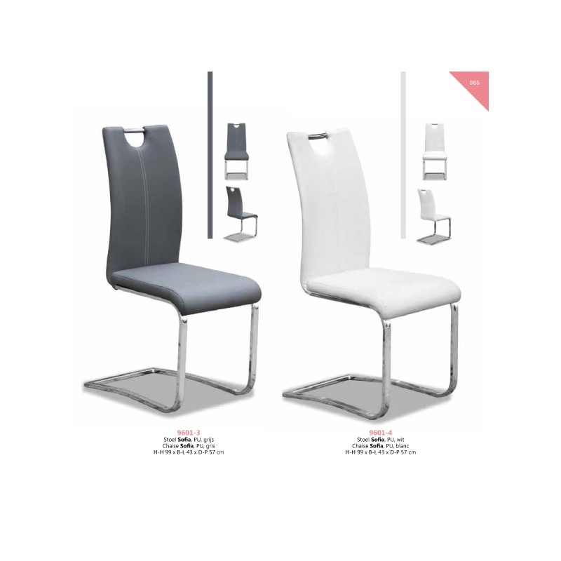 chaise sofia cappuccino - Lot 6 Chaises Scandinaves2126