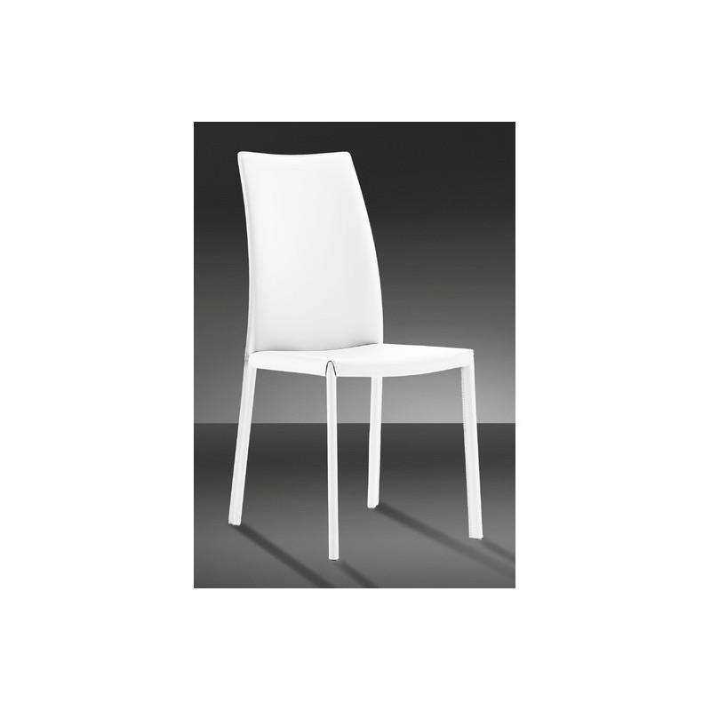 chaise giada cuir reconstitu s splendeur du bois bruxelles. Black Bedroom Furniture Sets. Home Design Ideas