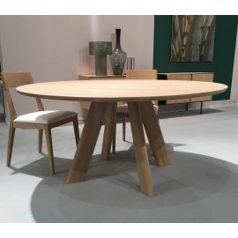 Table EAU ROUGE ronde 130cm