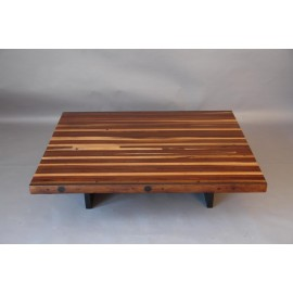 Table de salon BOWLING merisier