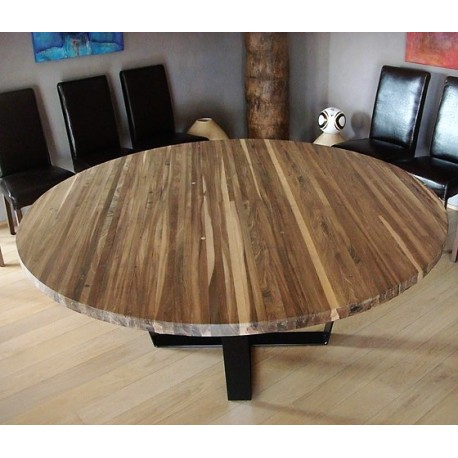Table ronde 135cm BOWLING