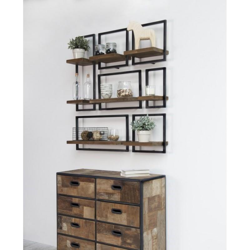 etag re murale module a splendeur du bois bruxelles. Black Bedroom Furniture Sets. Home Design Ideas