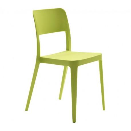 Chaise polypropylène 7 couleurs