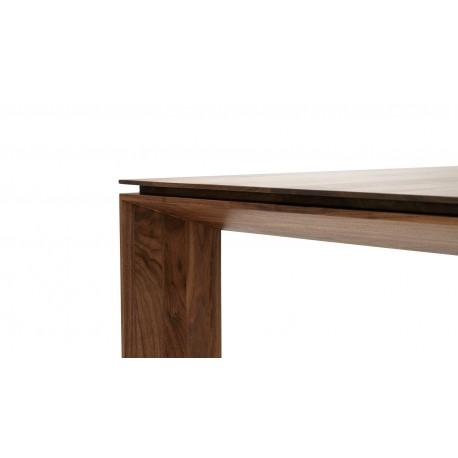 Table PORTOFINO noyer. Prix en chêne