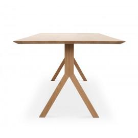 Table à manger ATHOS 160x90cm. Chêne