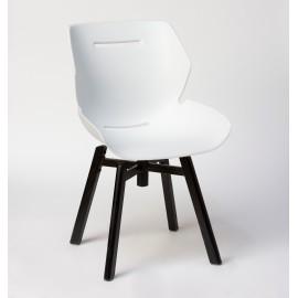 Chaise TOOON 3 Swivel blanc / noir