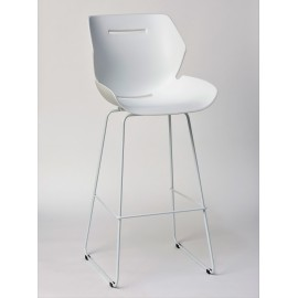 Tabouret BAR TOOON blanc / noir