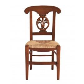 """Chaise paillée """"Palmette"""""""