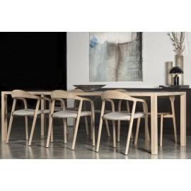 Table à manger HELIOS Chêne 180 x 90