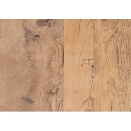 Récupération ancien plancher de grange mixte pin, orme et frêne