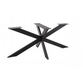 Pied acier STAR croix