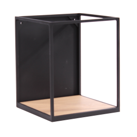 RUBIC étagère fer & chêne A7506
