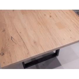 Plateau de table vieux chêne raboté 2 ou 4 mm.