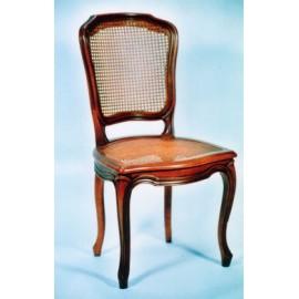 Chaise cabriolet Louis XV décrochement cannée