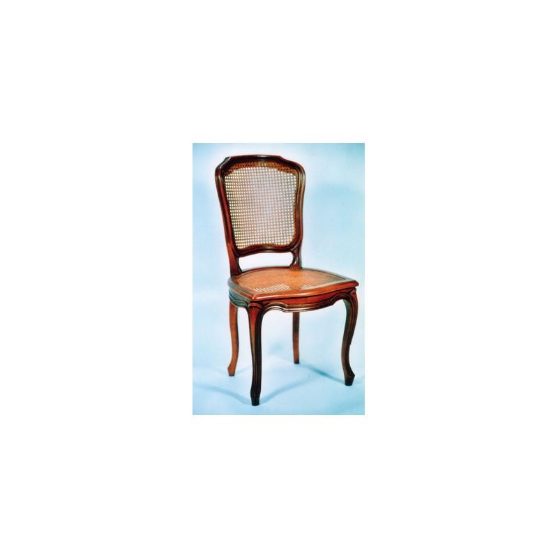 chaise cabriolet louis xv d crochement cann e splendeur du bois bruxelles. Black Bedroom Furniture Sets. Home Design Ideas
