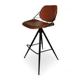 Chaise bar RAFAEL pivotant Ht 102cm