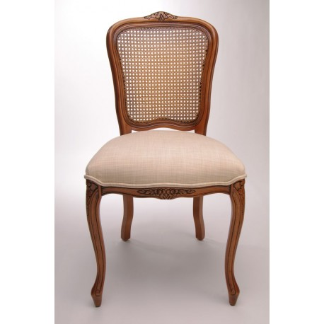 chaise louis xv dos cann e splendeur du bois bruxelles. Black Bedroom Furniture Sets. Home Design Ideas