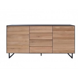 ALEXI buffet 2 portes / 3 tiroirs 180 x Ht85cm