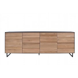 ALEXI buffet 2 portes / 6 tiroirs 240 x Ht85cm