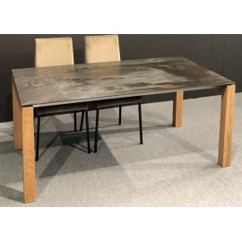 Table CHAMON allonges italiennes Dekton / Céramique