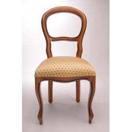 Chaise Louis-Philippe pieds galbés