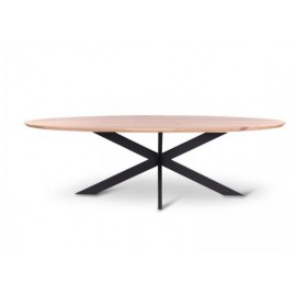 Table ovale OWEN 240x110cm chêne
