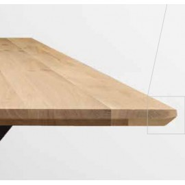 Composez votre table Rectangulaire BEVELED.