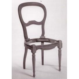 Chaise Louis-Philippe assise à garnir