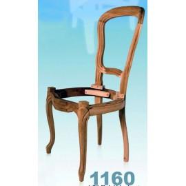Chaise Louis-Philippe à garnir