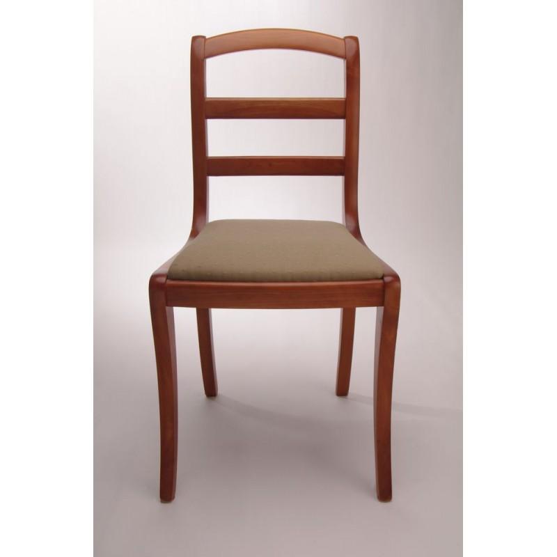 chaise barrettes pieds sabres garnie splendeur du bois bruxelles. Black Bedroom Furniture Sets. Home Design Ideas