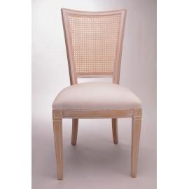 Chaise Directoire dos canné assise garnie