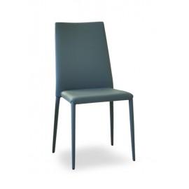 """Chaise BEA en cuir souple """"A"""""""
