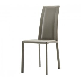Chaise SILVY cuir régénéré * U02
