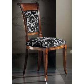 Chaise de style Directoire garnie