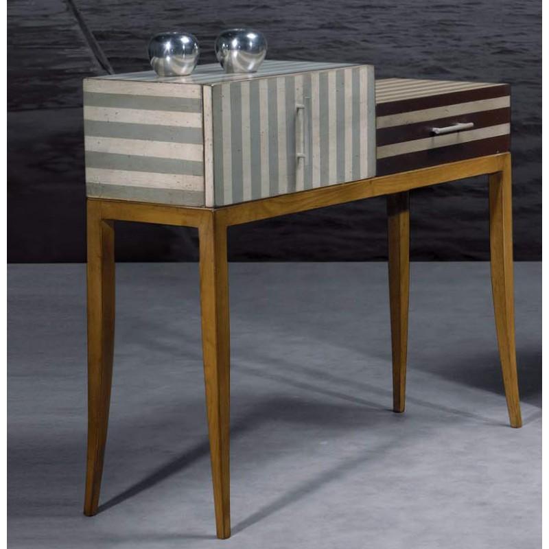 console astrolabe en merisier splendeur du bois bruxelles. Black Bedroom Furniture Sets. Home Design Ideas